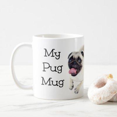 My Pug Mug Cute Dog Mug