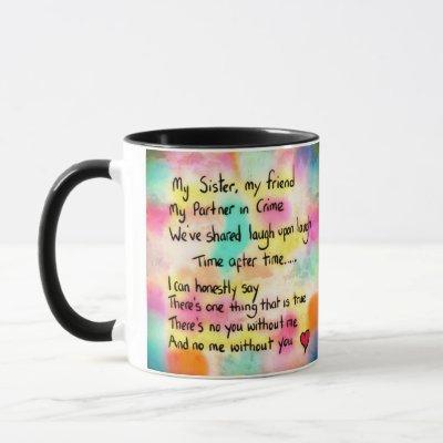 My sister mug