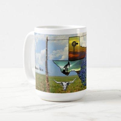 My Texas personalized Coffee Mug