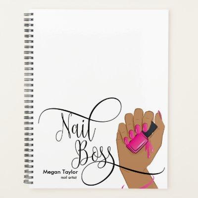 Nail Boss, nail Technician, long nails, manicure Planner
