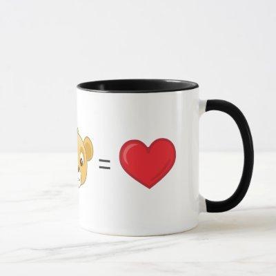Nala+Simba=Love Mug