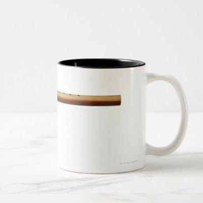 Native American Cedar Flute Two-Tone Coffee Mug
