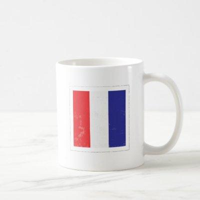 "Nautical Letter ""T"" Signal Flag Coffee Mug"