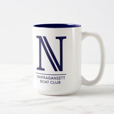 NBC Mug with Crest and N Logo