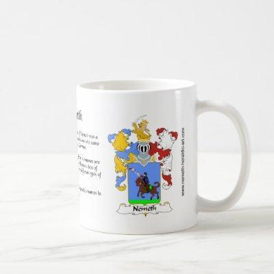 Nemeth Crest mug