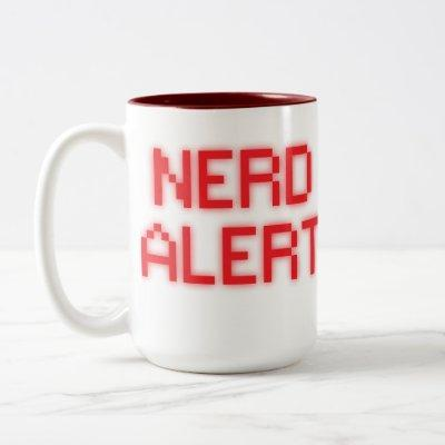 Nerd Alert Two-Tone Coffee Mug