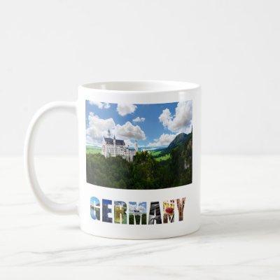 Neuschwanstein Castle Bavaria Germany Photo Coffee Mug