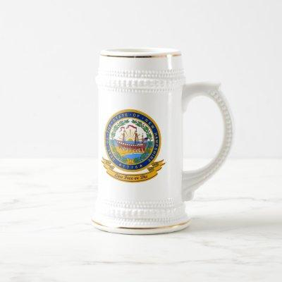New Hampshire Seal Beer Stein