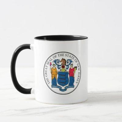 New Jersey State Seal - Mug