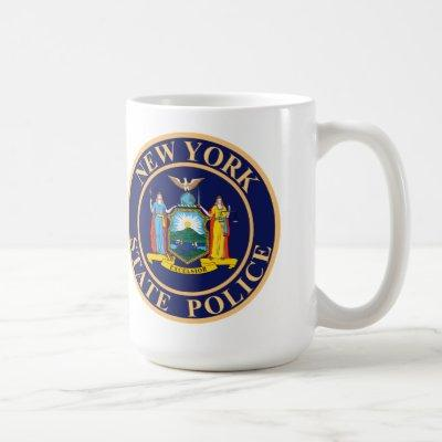 New York State Police Seal Coffee Mug