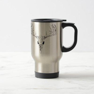 Nice Rack-Trophy Buck-Deer Rack Travel Mug