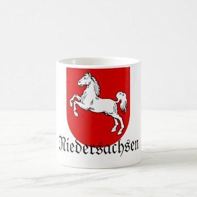Niedersachsen Wappen Coat of Arms Coffee Mug