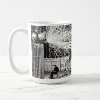 Nikola Tesla Electricity Coffee Mug