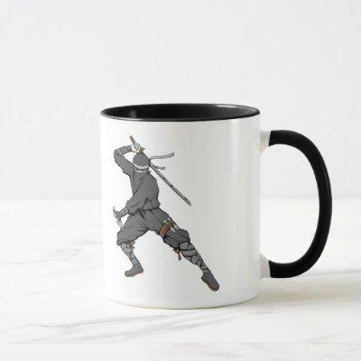 Ninja ~ Ninjas 2 Martial Arts Warrior Fantasy Art Mug