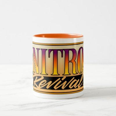Nitro Revival Coffee Mug! Two-Tone Coffee Mug
