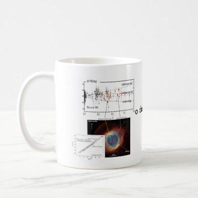 No dark energy! coffee mug
