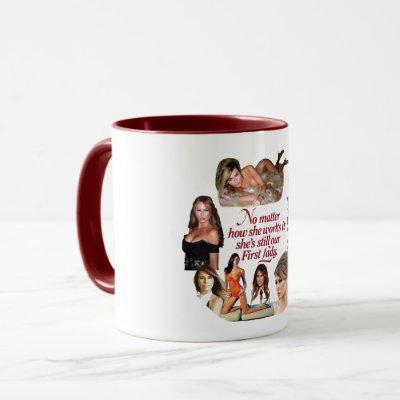 No matter how she works it mug