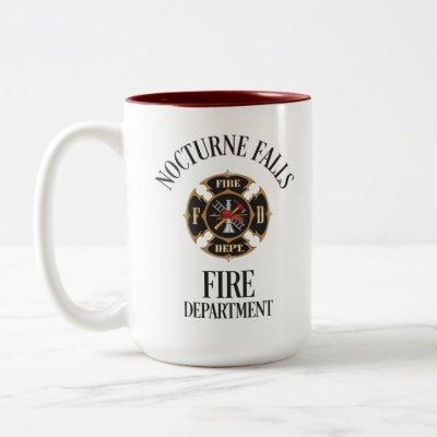 Nocturne Falls Fire Department mug