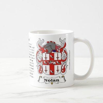 Nolan Family Coat of Arms Mug