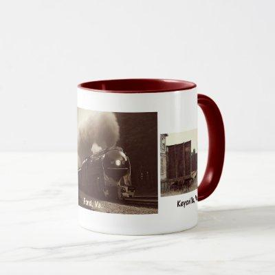 Norfolk and Western 611-The Spirit of Roanoke Mug