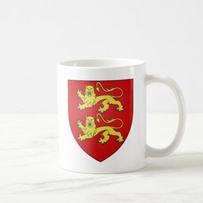 Normandy (France) Coat of Arms Coffee Mug