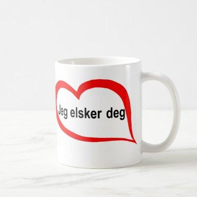 Norwegian I love you Coffee Mug