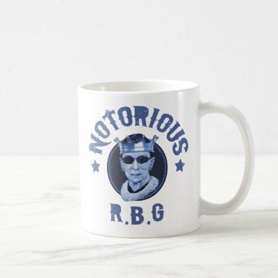 Notorious RBG III Coffee Mug