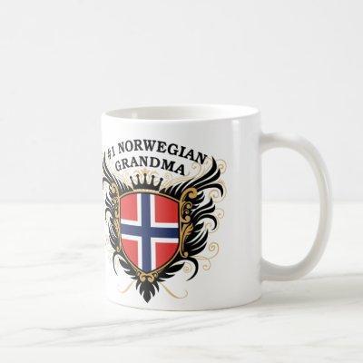 Number One Norwegian Grandma Coffee Mug