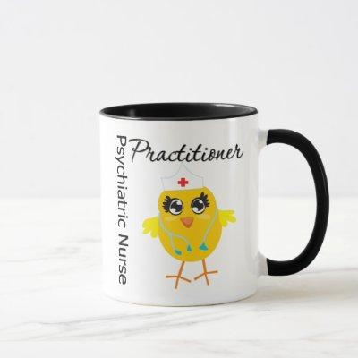 Nurse Chick v1 Psychiatric Nurse Practitioner Mug
