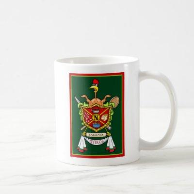 Nyikos Family Crest - mug