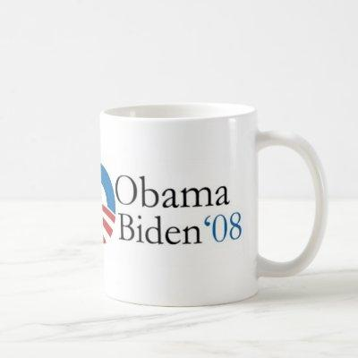 Obama Biden '08 Mug