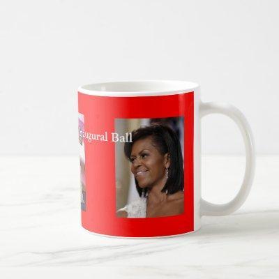 Obama inaugural ball coffee mug