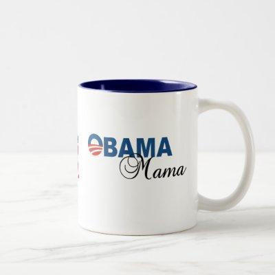 Obama Mama Logo Coffee Mug