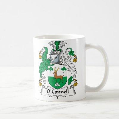 O'Connell Family Crest Coffee Mug