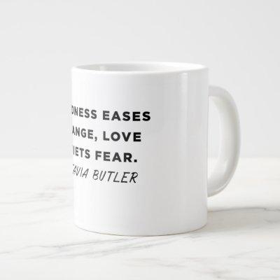 Octavia Butler Love Quote Large Coffee Mug