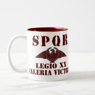 Octavian/Augustus Valiant 20th Roman Legion Mug