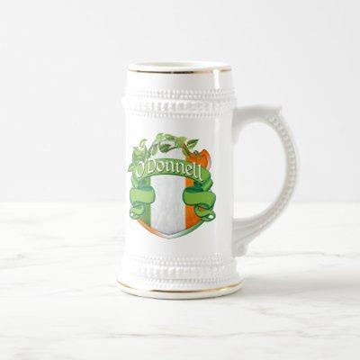 O'Donnell Irish Shield Beer Stein
