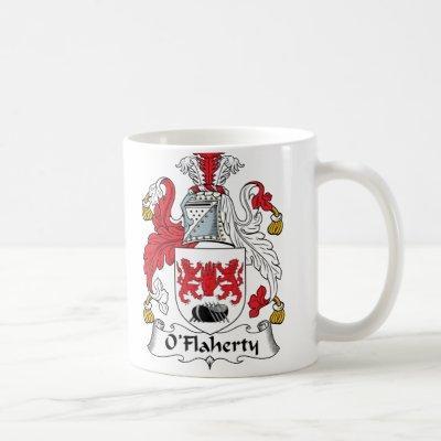 O'Flaherty Family Crest Coffee Mug