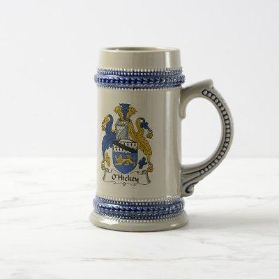 O'Hickey Coat of Arms Stein - Family Crest