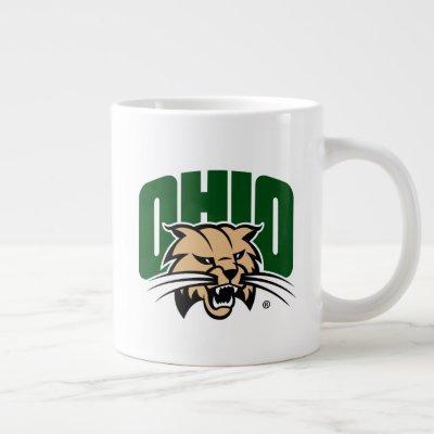 Ohio Bobcat Logo Giant Coffee Mug