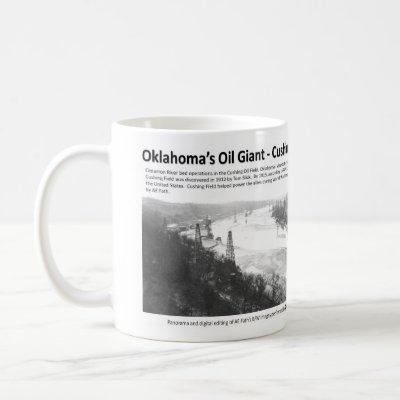 Oklahoma's Oil Giant - Cushing Field Coffee Mug