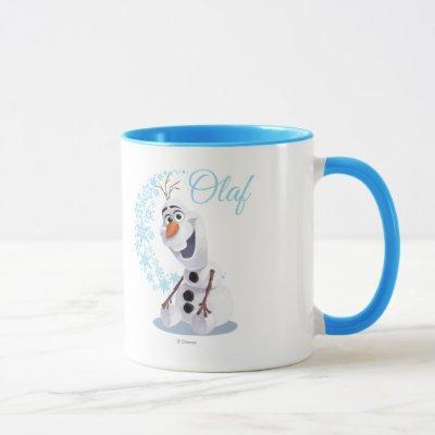 Olaf   Wave of Snowflakes Mug