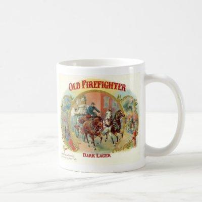 Old Firefighter Dark Lager Cup