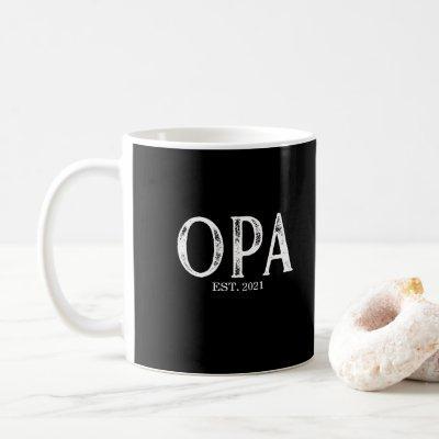 Opa Year Established Coffee Mug