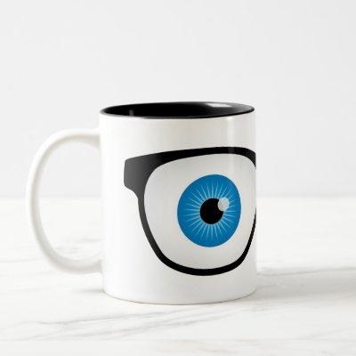 Optometry Eyes Two-Tone Coffee Mug