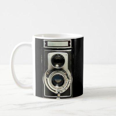 Original vintage camera coffee mug