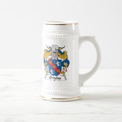 Ornelas Family Crest Beer Stein