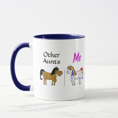 Other Aunts Me Unicorn Mug
