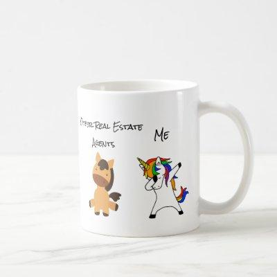 Other Real Estate Agents Funny Me Unicorn Coffee Mug
