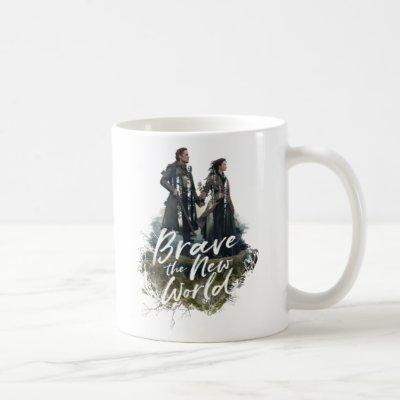 Outlander - Jamie & Claire | Brave the New World Coffee Mug